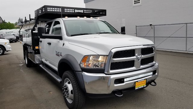 2018 Ram 5500 Crew Cab DRW 4x4,  Knapheide Contractor Body #R180361 - photo 8