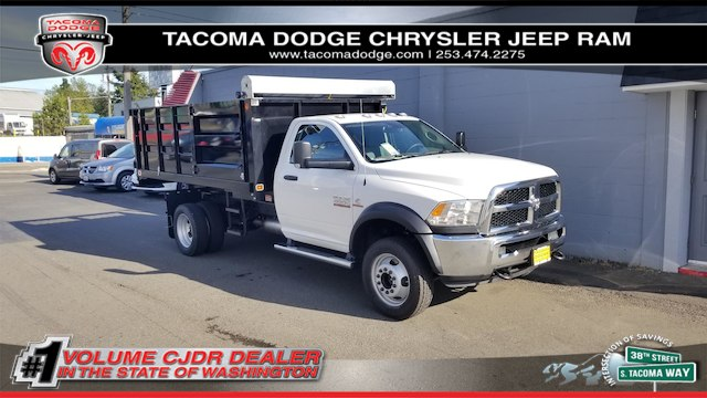 2018 Ram 4500 Regular Cab DRW 4x2,  Knapheide Landscape Dump #R180382 - photo 1