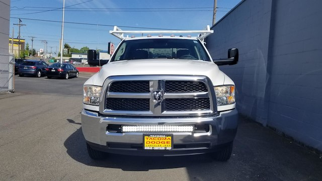 2018 Ram 3500 Crew Cab DRW 4x4,  Knapheide Contractor Body #R180385 - photo 4
