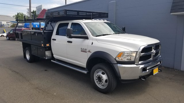 2018 Ram 5500 Crew Cab DRW 4x4,  Knapheide Contractor Body #R180420 - photo 4