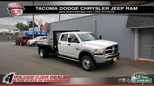 2018 Ram 5500 Crew Cab DRW 4x4,  Knapheide Value-Master X Platform Body #R180426 - photo 1