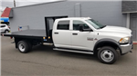 2018 Ram 5500 Crew Cab DRW 4x4,  Knapheide Value-Master X Platform Body #R180426 - photo 8