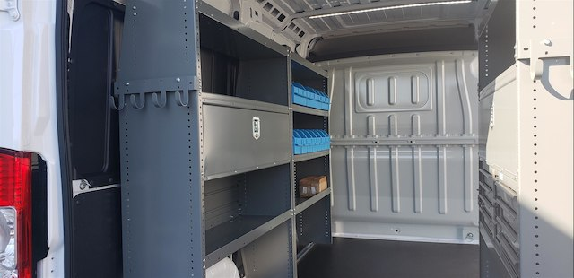 2018 ProMaster 2500 High Roof FWD,  Adrian Steel Upfitted Cargo Van #R180450 - photo 11