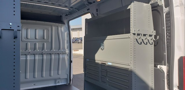 2018 ProMaster 2500 High Roof FWD,  Adrian Steel Upfitted Cargo Van #R180450 - photo 12