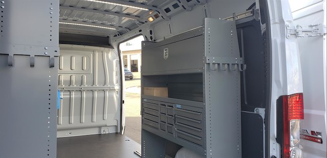 2018 ProMaster 2500 High Roof FWD,  Adrian Steel Upfitted Cargo Van #R180475 - photo 9
