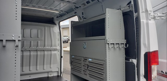 2018 ProMaster 2500 High Roof FWD,  Adrian Steel Upfitted Cargo Van #R180485 - photo 10
