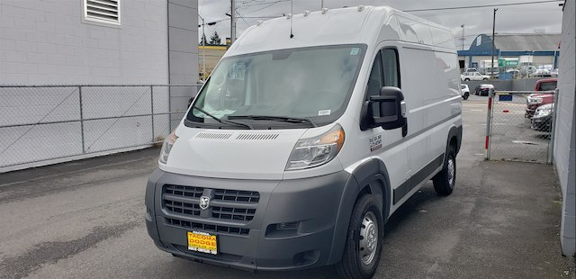 2018 ProMaster 2500 High Roof FWD,  Adrian Steel Electrical Contractor Cargo Van Upfit #R180485 - photo 1