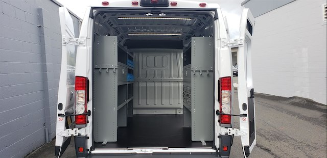 2018 ProMaster 2500 High Roof FWD,  Adrian Steel Upfitted Cargo Van #R180485 - photo 2