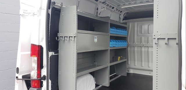 2018 ProMaster 2500 High Roof FWD,  Adrian Steel Upfitted Cargo Van #R180485 - photo 9