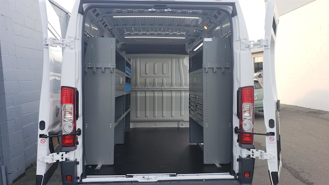 2018 ProMaster 2500 High Roof FWD,  Adrian Steel Upfitted Cargo Van #R180488 - photo 2