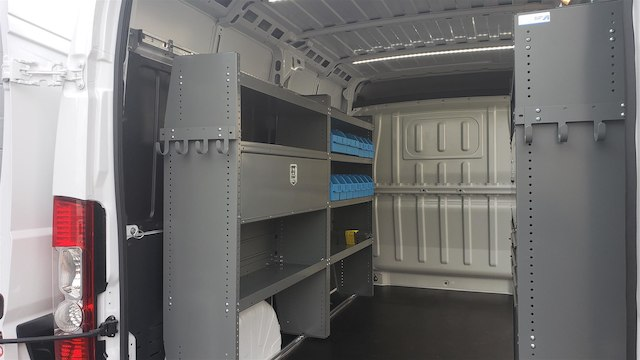 2018 ProMaster 2500 High Roof FWD,  Adrian Steel Upfitted Cargo Van #R180488 - photo 11