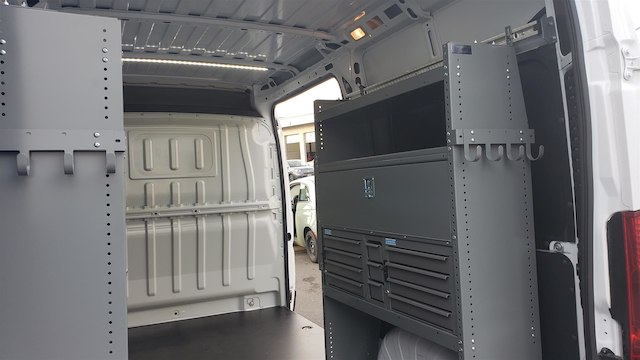 2018 ProMaster 2500 High Roof FWD,  Adrian Steel Upfitted Cargo Van #R180488 - photo 12