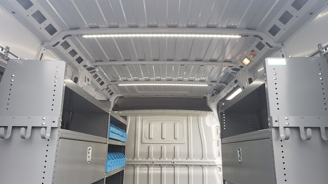 2018 ProMaster 2500 High Roof FWD,  Adrian Steel Upfitted Cargo Van #R180488 - photo 13