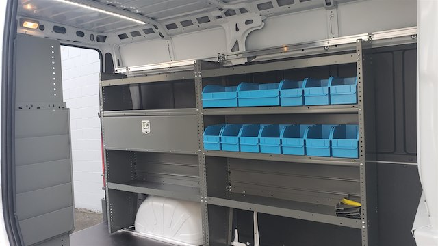 2018 ProMaster 2500 High Roof FWD,  Adrian Steel Upfitted Cargo Van #R180488 - photo 14