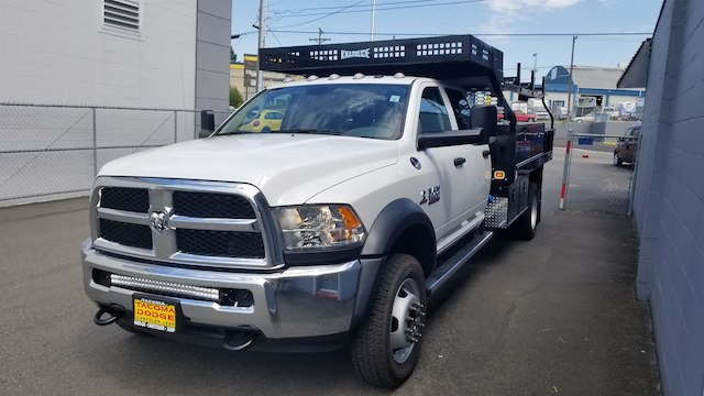 2018 Ram 5500 Crew Cab DRW 4x4,  Knapheide Contractor Body #R180517 - photo 5