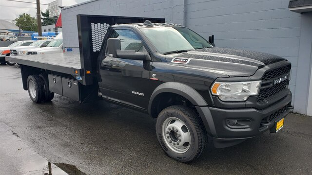 2019 Ram 4500 Regular Cab DRW 4x2, Knapheide Platform Body #R190554 - photo 1