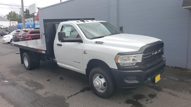2019 Ram 3500 Regular Cab DRW 4x2, Harbor Platform Body #R190869 - photo 1