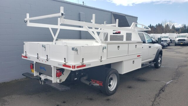 2020 Ram 5500 Crew Cab DRW 4x4, Harbor Contractor Body #R200217 - photo 1
