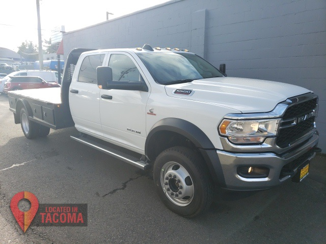 2020 Ram 5500 Crew Cab DRW 4x4, Knapheide Platform Body #R200499 - photo 1