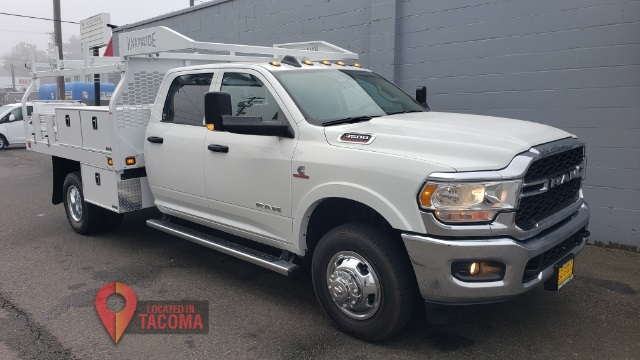 2020 Ram 3500 Crew Cab DRW 4x4, Knapheide Contractor Body #R200551 - photo 1