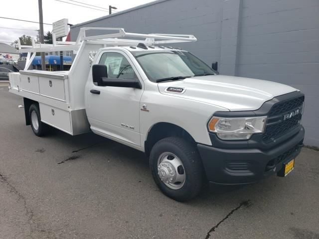 2020 Ram 3500 Regular Cab DRW 4x2, Harbor Contractor Body #R200581 - photo 1