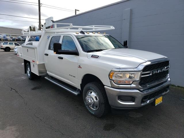 2020 Ram 3500 Crew Cab DRW 4x4, Harbor Contractor Body #R200644 - photo 1