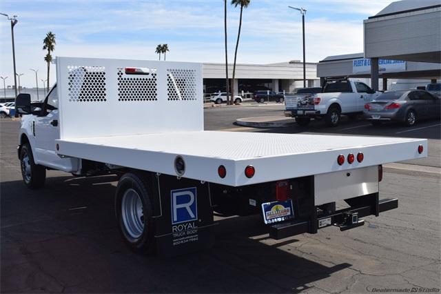 2021 Ford F-350 Regular Cab DRW 4x2, Harbor Platform Body #10177 - photo 1