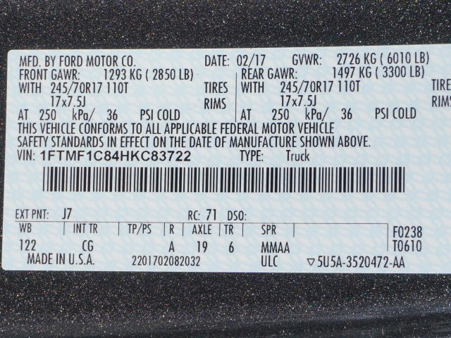 2017 F-150 Regular Cab, Pickup #70894 - photo 10