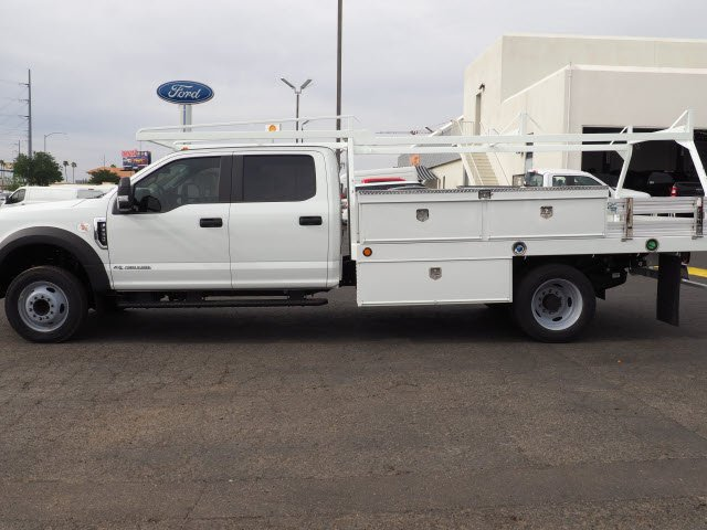 2018 F-550 Crew Cab DRW 4x2,  Scelzi Contractor Body #81190 - photo 3