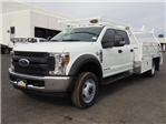 2018 F-550 Crew Cab DRW 4x2,  Scelzi Contractor Body #81190 - photo 1