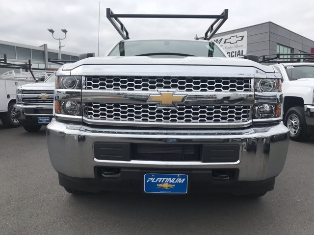 2019 Silverado 2500 Double Cab 4x4,  Harbor TradeMaster Service Body #CF10257 - photo 5