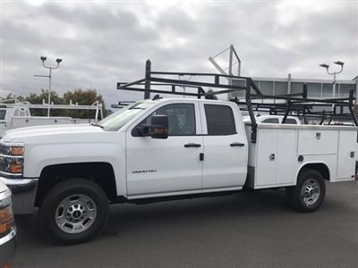 2019 Silverado 2500 Double Cab 4x4,  Harbor TradeMaster Service Body #CF10257 - photo 1