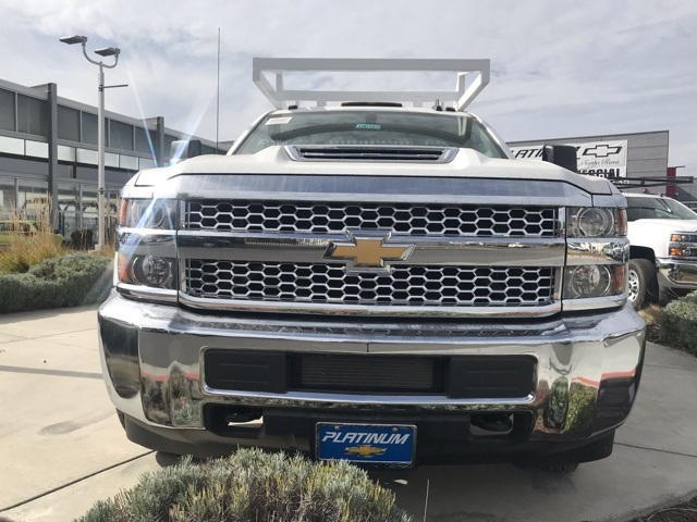 2019 Silverado 3500 Regular Cab DRW 4x2,  Royal Contractor Body #CF10260 - photo 3