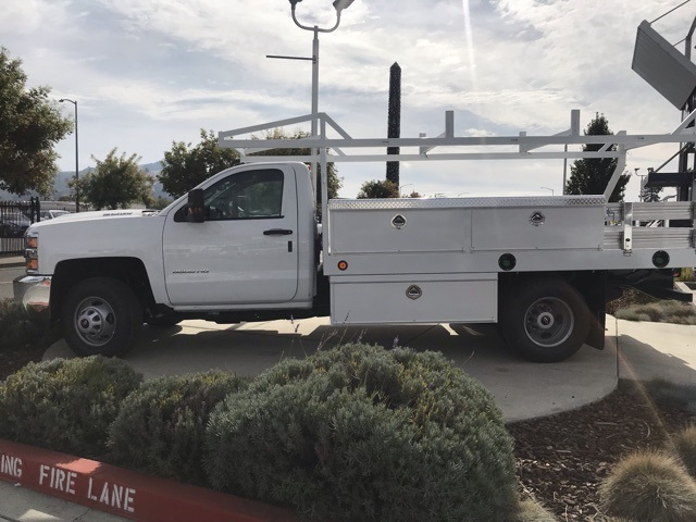 2019 Silverado 3500 Regular Cab DRW 4x2,  Royal Contractor Body #CF10260 - photo 5