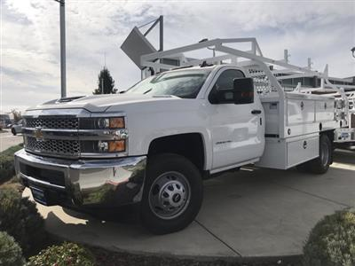 2019 Silverado 3500 Regular Cab DRW 4x2,  Royal Contractor Body #CF10260 - photo 1