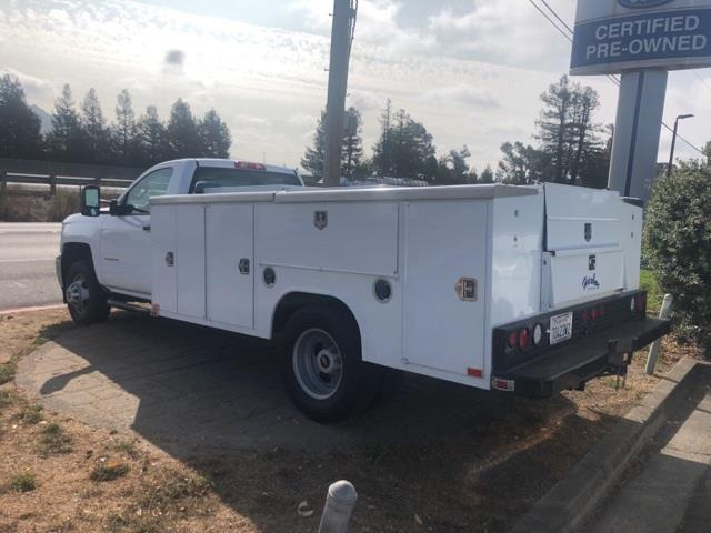 2019 Chevrolet Silverado 3500 Regular Cab DRW 4x4, Harbor Service Body #CF12090A - photo 1