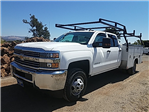 2016 Silverado 3500 Crew Cab DRW 4x4, Harbor Service Body #CF6991 - photo 1
