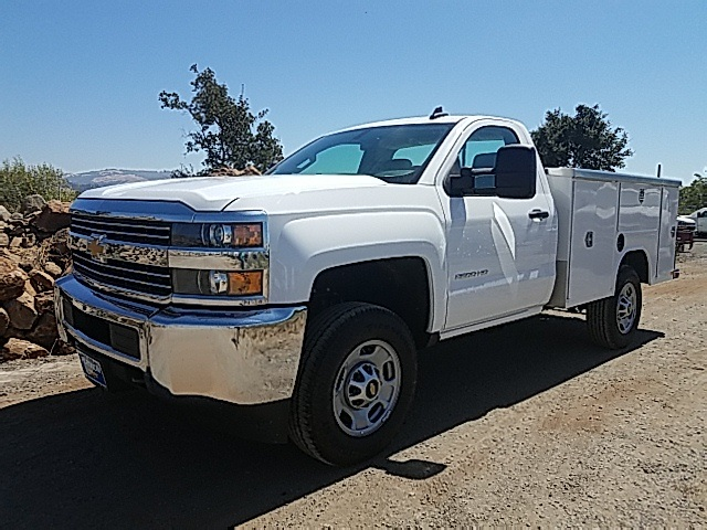 2017 Silverado 2500 Regular Cab, Harbor TradeMaster Service Body #CF7787 - photo 1
