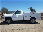2017 Silverado 2500 Regular Cab, Harbor TradeMaster Service Body #CF7787 - photo 3