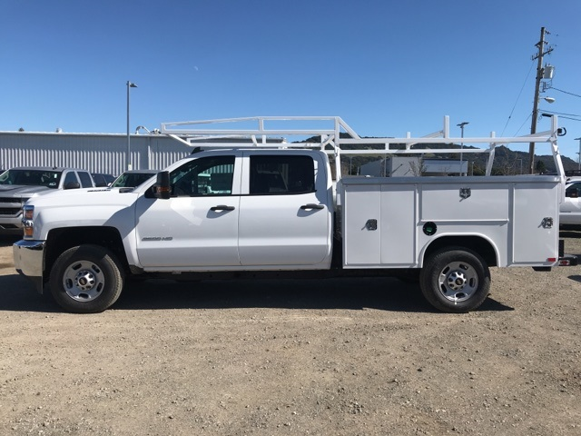 2018 Silverado 2500 Crew Cab, Harbor Service Body #CF9097 - photo 2