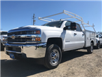 2018 Silverado 2500 Crew Cab, Harbor Service Body #CF9097 - photo 1
