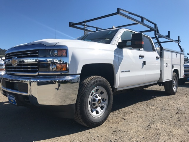 2018 Silverado 3500 Crew Cab, Harbor TradeMaster Service Body #CF9098 - photo 1