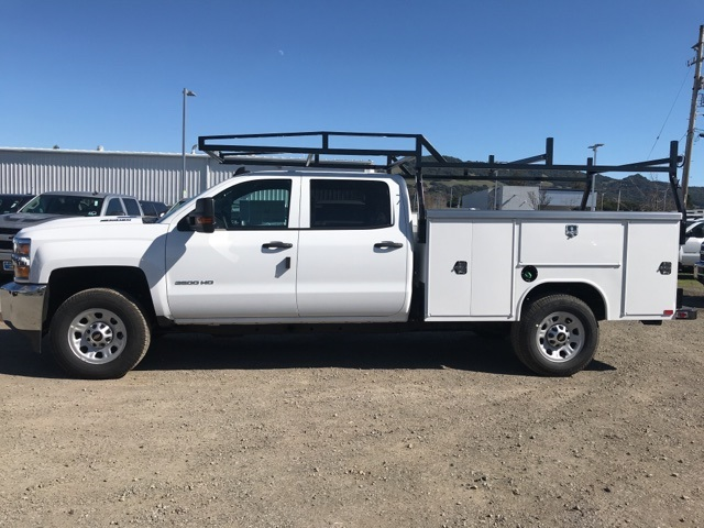 2018 Silverado 3500 Crew Cab, Harbor Service Body #CF9098 - photo 2