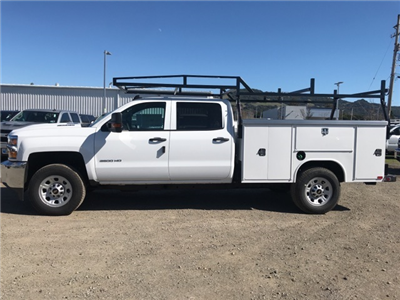2018 Silverado 3500 Crew Cab, Harbor TradeMaster Service Body #CF9098 - photo 2