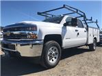 2018 Silverado 3500 Crew Cab, Harbor Service Body #CF9098 - photo 1