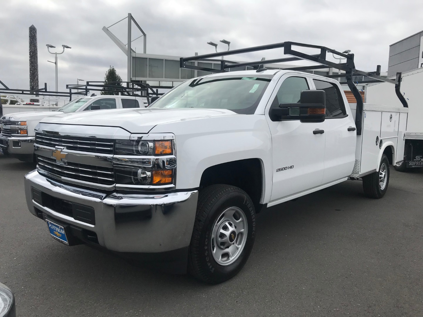 2018 Silverado 2500 Crew Cab 4x2,  Royal Service Body #CF9843 - photo 5