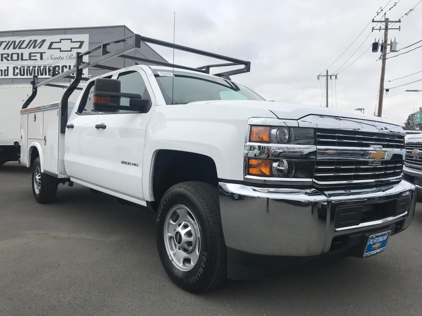 2018 Silverado 2500 Crew Cab 4x2,  Royal Service Body #CF9843 - photo 1
