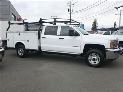 2018 Silverado 2500 Crew Cab 4x2,  Royal Service Body #CF9843 - photo 3