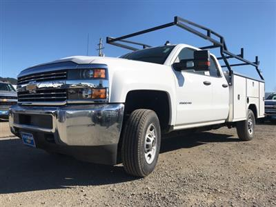 2018 Silverado 3500 Crew Cab 4x4,  Service Body #CF9855 - photo 4