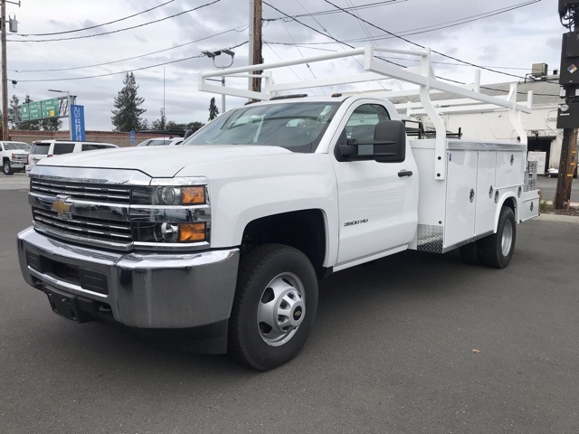 2017 Silverado 3500 Regular Cab DRW 4x2,  Royal Service Combo Body #CF9871 - photo 12